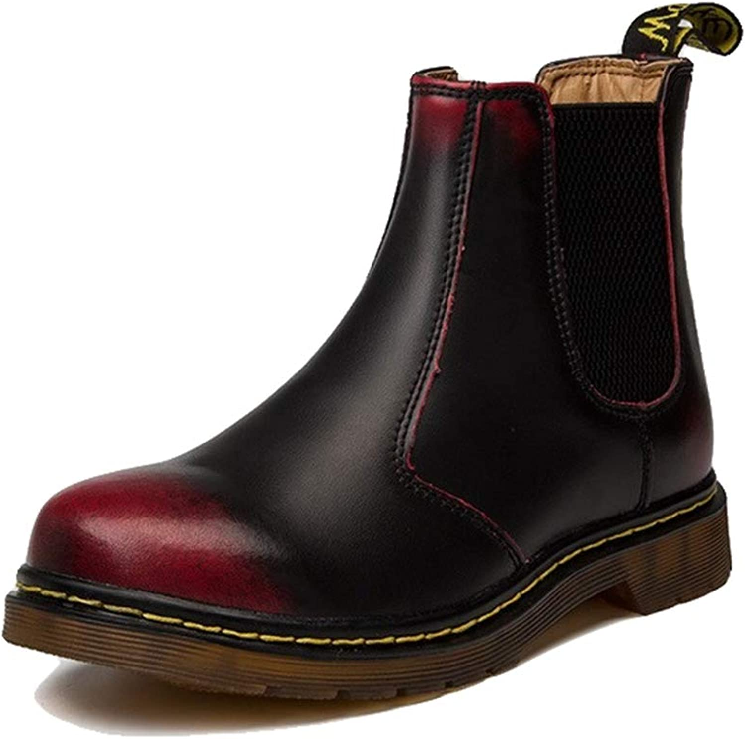 Giles Jones Chelsea Boots Men Autumn Winter Classic Slip-on Comfortable Casual Ankle Boots