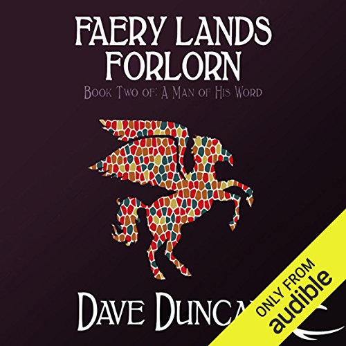 Faery Lands Forlorn audiobook cover art