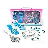 adgbd Kit De Juguetes De Vestir De Princesa, Zapatos De Cristal Y Joyas para Niñas, Accesorios para Niños Juguetes, para Niños De 3 A 6 Años, Regalo De Fiesta De Cumpleaños