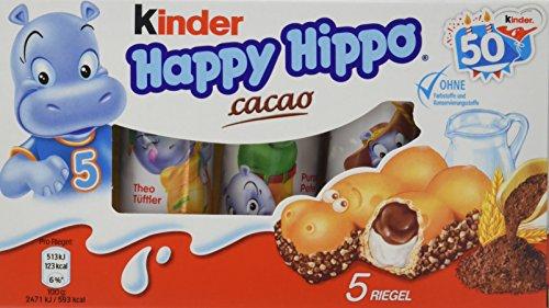 kinder Happy Hippo Cacao Vorratspack, 10er Pack (10 x 103,5 g Packung)