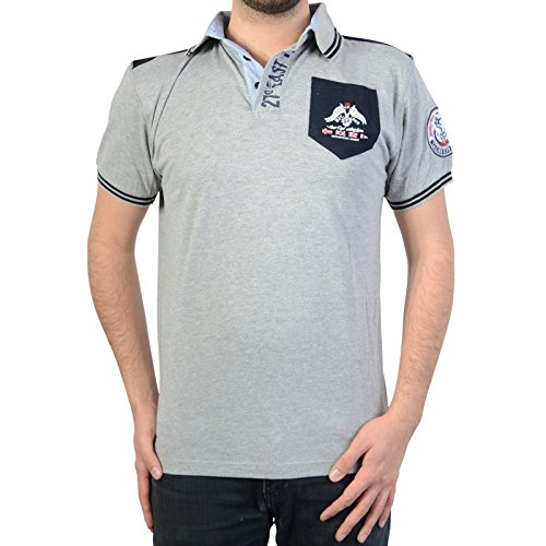 Geographical Norway Polo Kalipso DD Men Gris