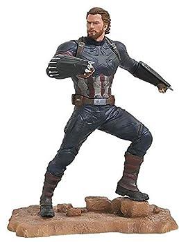 DIAMOND SELECT TOYS Marvel Gallery  Avengers Infinity War Movie Captain America PVC Diorama Figure