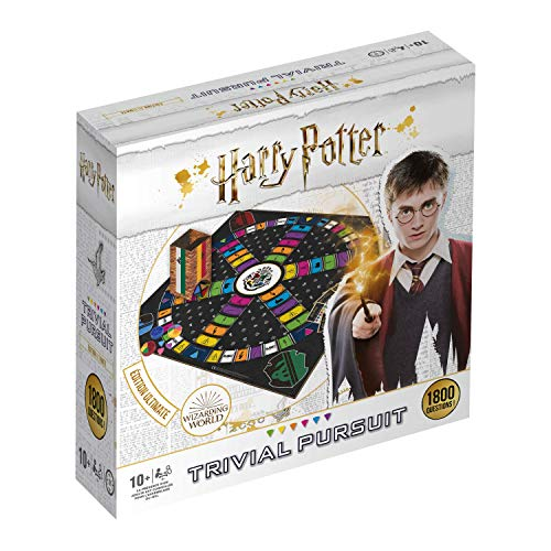 Winning Moves- Trivial Pursuit Harry Potter 1800 Questions-Jeu de société-Version française, 0486