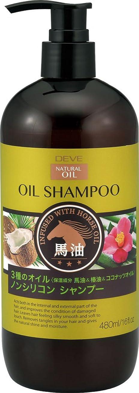 デイジー流出ベリーディブ 3種のオイルシャンプー(馬油?椿油?ココナッツオイル)本体 480ml