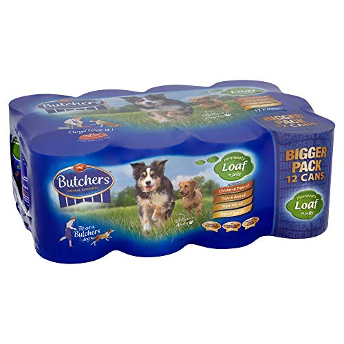 Butcher's Pet Care Butcher's Meaty Loaf in Jelly Dog Food Tins, 9.6kg (24 x 400g)