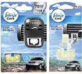 Febreze Bundle Car Fresh Escape Klare Bergluft Starterkit + Nachfüller