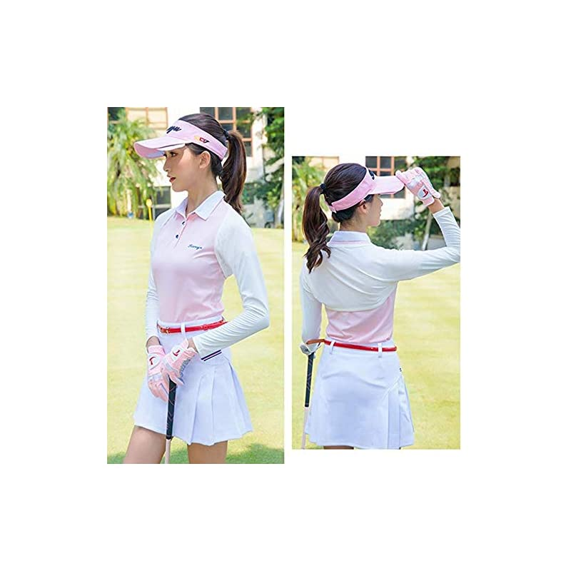 YAKEFJ UV Protection Anti-UV Cooling Shawl Arm Sleeves Sun Protector for Women Golfing Riding Outdoor Activities