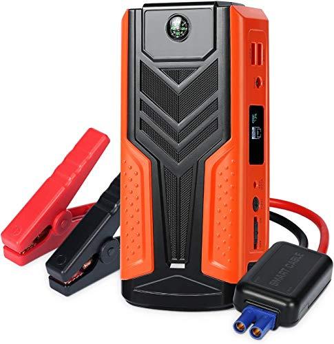 Car Jump Starter Batería 1200A 12V 18000mAh Multifunción