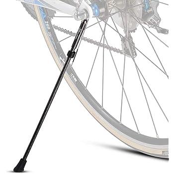 ROCKBROS(ロックブロス)スタンド 自転車 キックスタンド ロードバイク カーボン製 簡単取り付け 片足 転倒防止 軽量 26インチ以下 700c