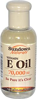Sundown Naturals Vitamin E Oil Clear 75 Ml