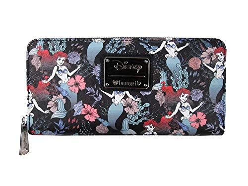 Loungefly x Ariel Floral Print Wallet
