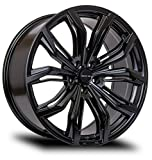 RTX Black Widow Alloy Wheel/Rim Size 20x9 Bolt Pattern 5x127 Offset 35 Center Bore 71.5 Satin Black Center Caps Included Lug Nuts NOT Included (Rim Priced Individually)