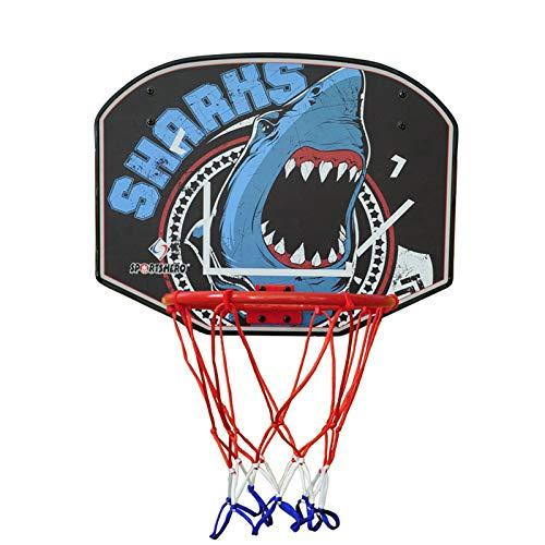 ZXCVB Niños Baloncesto Hoop, Mini Baloncesto Baloncesto Mini Baloncesto Tipo de Disparo, Tipo Colgante Bebé, Punch-Free Hogar Tuerca de Juguete de Juguete Interior Shark