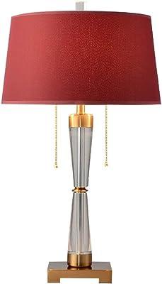 Lampade da lavoro Lampade da tavolo Semplice K9 cristallo lampada da tavolo, doppio tiro switch lampada da tavolo, comodino lampada da tavolo, decorativo Lampada da tavolo (piccola, grande) Lampade da