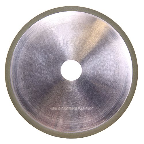 20X8X12 Type 1 Semi-Friable Aluminum Oxide Centerless Grinding Wheel 80-M
