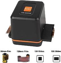 $45 » [2020 Latest ] Digital Film & Slide Scanner Converter – Convert 35mm 126 Film Negatives & Slides to HD Digital JPEG Photos, Easy Load Film Insert, Works on Windows & Mac OS Computers