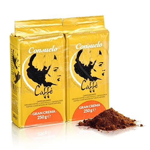 Consuelo Italienischer Caffè   Gran Crema - gemahlen, 2 x 250 g