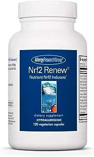Allergy Research Group - Nrf2 Renew - Green Tea, Milk Thistle, Olive - Antioxidant - 120 Vegetarian Capsules