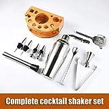 Zoom IMG-1 delgeo cocktail shaker set kit