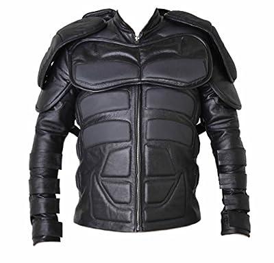 Classyak Batman Dark Knight Real Leather Jacket, High Quality Cowhide, Xs-5xl