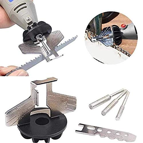 2019 Spezial-Kettensägen-Schleifwerkzeug, Schärfvorrichtung Kettensäge-Zahnwerkzeuge, die mit elektrischer Schleifmaschine verwendet werden
