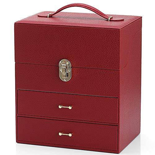 Jiamuxiangsi- Caja de joyería Caja de Regalo Decoración Caja de Almacenamiento Cumpleaños...