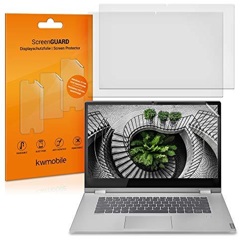kwmobile 2X Folie matt kompatibel mit Lenovo IdeaPadC340 14 Laptop Schutzfolie entspiegelt Displayfolie Transparent