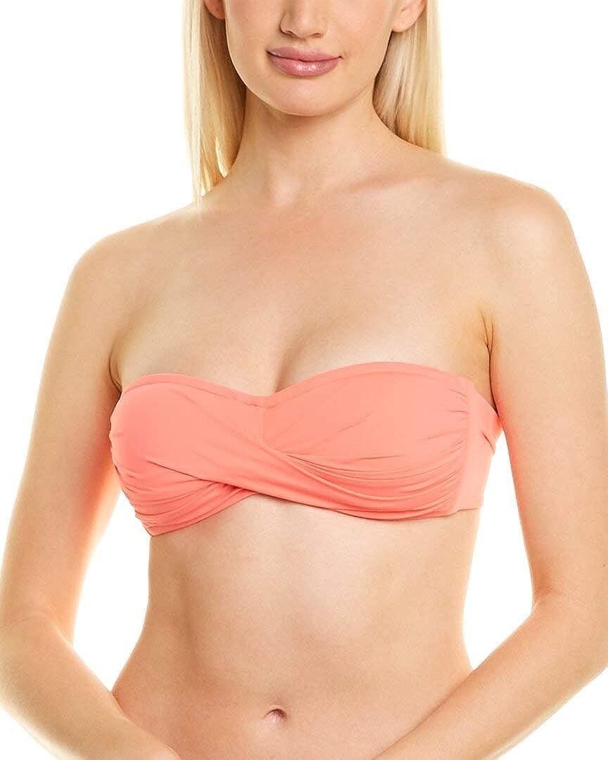 La Blanca Women's Sale price Island Goddess Top Bandeau Swimsuit Bikini Regular discount