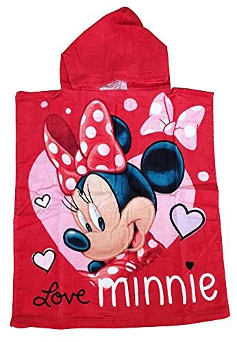 Minnie Mouse Love Poncho 50 x 115 cm