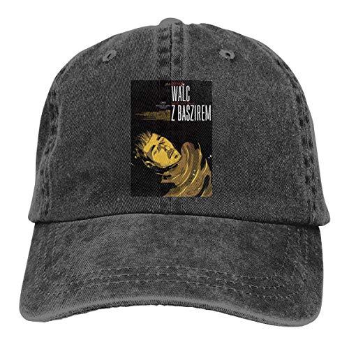 FUGVO Nuevos Sombreros Personalizados Vals Negro con Bashir Un tamaño Casquette Cowboy Hat