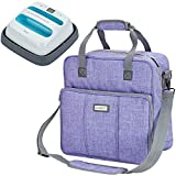 HOMEST Heat Press Machines Carrying Case, Compatible with 9 x 9 inches Cricut Easy Press 2, Purple (Patent...