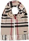fraas plaid oversized cashmink woven blanket-scarf for men women unisex - made in germany - softer