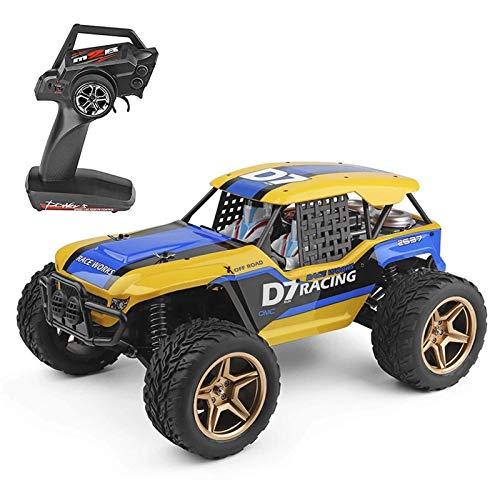 LKOER RC Cars Rock Racing Crawler Truck Off Road RC Coche Todo Terreno Vehículos Escalada Coche para Adultos y niños (Tamaño: ... jinyang ( Size : One Size )