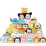 Tylyund Peluches 31 Piezas Tsum Tsum Felpa Mini 9 Cm Animal De Dibujos Animados Peluche Anime para Bebe Oyuncak Juguetes para Niñas