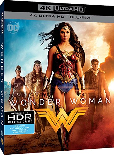 Wonder Woman (4K Ultra Hd+Blu-Ray) [Italia] [Blu-ray]