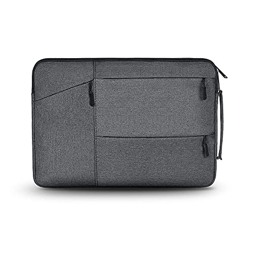 Tech-Protect Pocket Case Compatible with 14 Inch Laptops, Laptop Bag, Laptop Bag Sleeve Case, Dark Grey