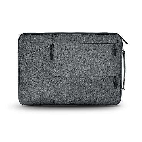 Tech-Protect Pocket Case Compatible with 13 Inch Laptops, Laptop Bag, Laptop Bag, Sleeve Case, Dark Grey