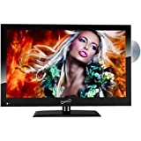 Supersonic SC-1912 19' LED HDMI AC/DC Widescreen HDTV with DVD Player + Wall Mount