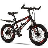FUFU Niños Bicicleta Al Aire Libre, para 9-14 Años, Niños, Niños, Niñas, Niños, Bicicleta De Montaña, Rojo, Blanco, Azul (Color : Red)