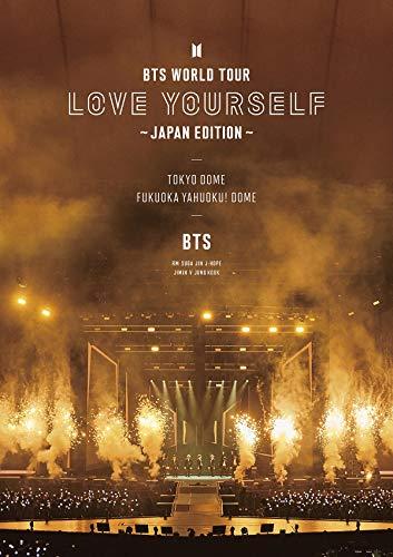 BTS WORLD TOUR  LOVE YOURSELF  ~JAPAN EDITION~(通常盤)[Blu-ray]