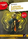 Lettres persanes (Bac 2020) Suivi du parcours « Le regard éloigné »