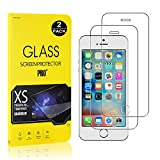 Screen Protector for iPhone SE / 5S / 5, Bear Village Tempered Glass Screen Protector, 9H Hardness Screen Protector Film for iPhone SE / 5S / 5, 2 Pack