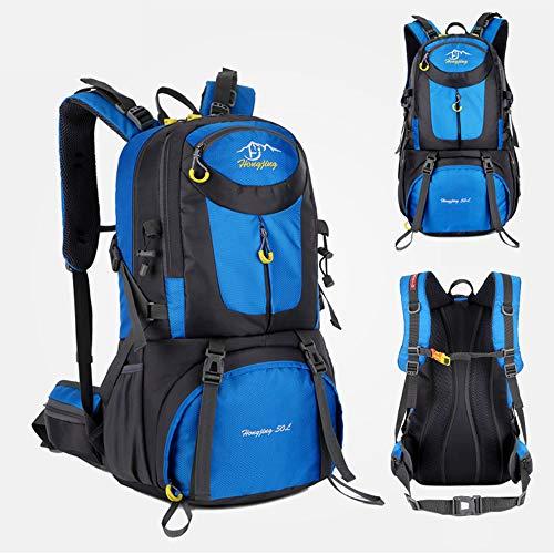 duoying Hiking Backpack 40L, Labor Saving Breathable Lightweight Hiking Rucksack, Multi-functional Hang System Trekking Rucksack Outdoor Skiing Climbing Camping Backpack