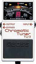Boss TU-3 ChromaticTuner, Fußpedal , chromastisch, Bodentuner