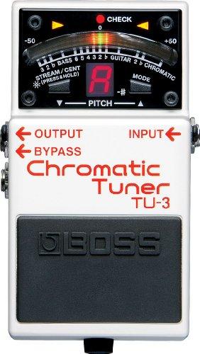 BOSS ボス CHROMATIC TUNER クロマチック・チューナー TU-3