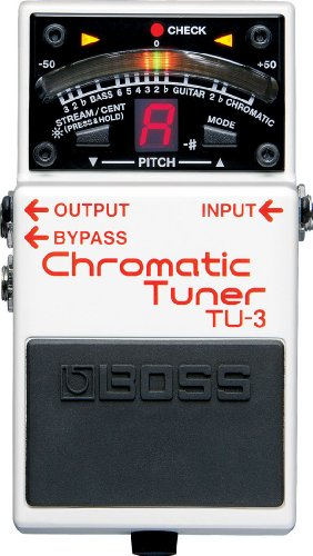 BOSS TU-3 Chromatic Tuner Stompbox (TU3)