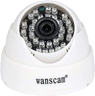 HW0031 1MP HD 720P IP WIFI IR15M SD CARD dome security IP camera