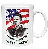 Richard Bong United States 11oz Taza de café de cerámica de alta calidad