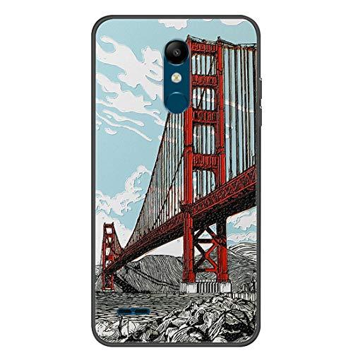 Hongjian Funda para LG K11 Phone TPU Soft Silicone Case Cover 20