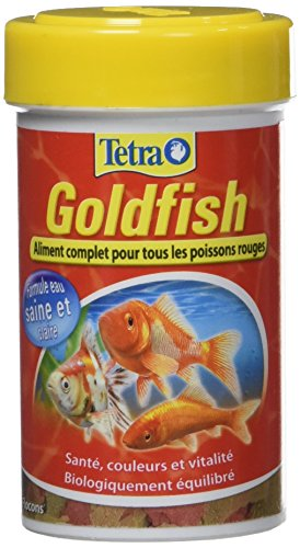 Tetra Goldfish–Alimento completo en copos para peces rojo–100ml